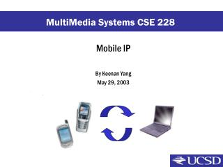 Mobile IP By Keenan Yang May 29, 2003
