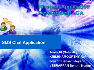 SMS Chat Application