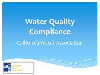 Water Quality Compliance