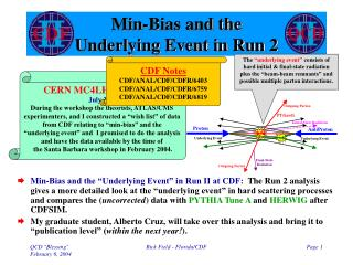 Min-Bias and the Underlying Event in Run 2