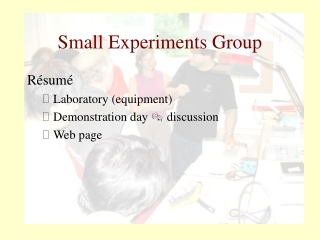 Small Experiments Group