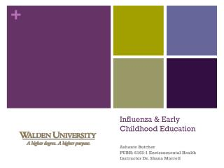 Influenza & Early Childhood Education