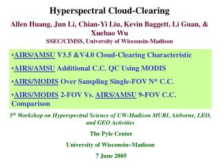 Hyperspectral Cloud-Clearing