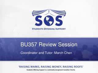 BU357 Review Session