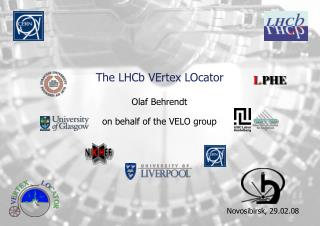 The LHCb VErtex LOcator