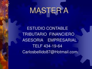 MASTER A