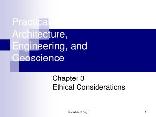 Practical Law of Architecture, Engineering, and Geoscience