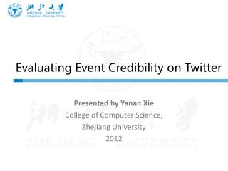 Evaluating Event Credibility on Twitter