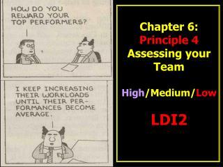 Chapter 6: Principle 4 Assessing your Team High /Medium/ Low LDI2