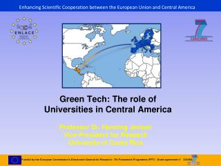 Enhancing Scientific Cooperation between the European Union and Central America