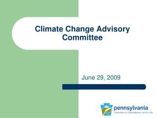 Climate Change Advisory Committee