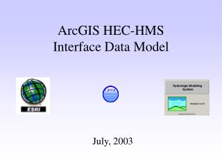 ArcGIS HEC-HMS  Interface Data Model
