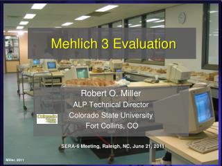 Mehlich 3 Evaluation