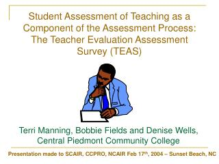 Student Assessment of Teaching as a Component of the Assessment Process: The Teacher Evaluation Assessment Survey (TEAS)