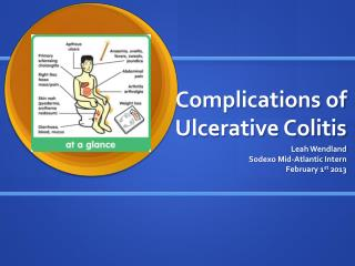 Complications of Ulcerative Colitis