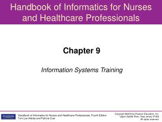 Chapter 9 Information Systems Training