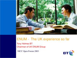 ENUM -  The UK experience so far