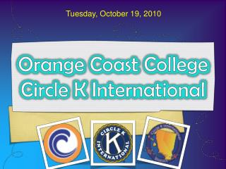 Orange Coast College Circle K International