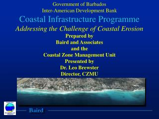 Government of Barbados Inter-American Development Bank Coastal Infrastructure Programme