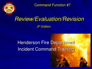 Review/Evaluation/Revision  3 rd  Edition