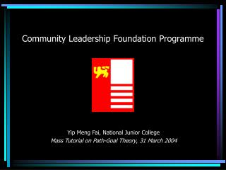 Community Leadership Foundation Programme