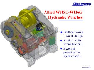 Allied WH5C-WH6G Hydraulic Winches