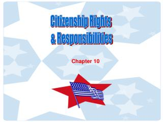 Citizenship Rights  & Responsibilities
