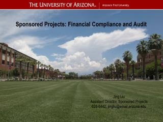 Sponsored Projects: Financial Compliance and Audit