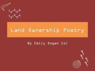 Land Ownership Poetry