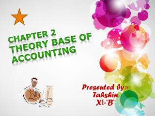 CHAPTER 2 THEORY BASE OF ACCOUNTING