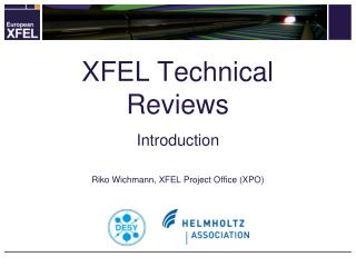 XFEL Technical Reviews