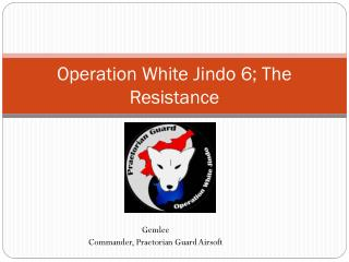 Operation White Jindo  6;  The R esistance
