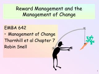 Reward Management and the Management of Change