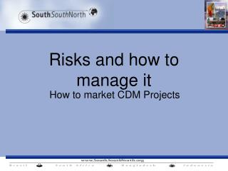 Risks and how to manage it