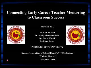 Connecting Early Career Teacher Mentoring to Classroom Success