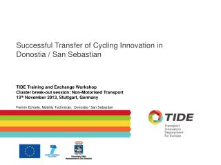 Successful Transfer of Cycling Innovation in  Donostia / San Sebastian