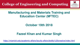 Welcome to  The Faculty of Computing