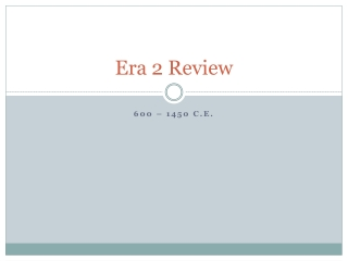 Era 2 Review