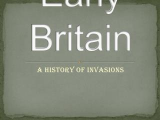 Early Britain