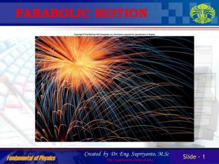 PARABOLIC MOTION