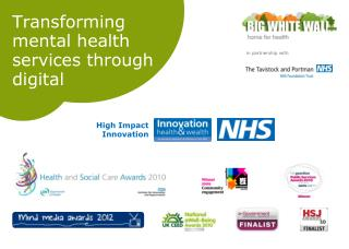 Transforming mental health services through digital