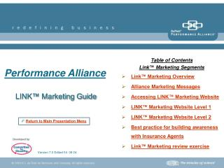 LINK™ Marketing Guide