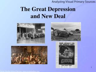 The Great Depression  and New Deal