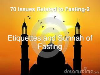 70 Issues Related to Fasting-2
