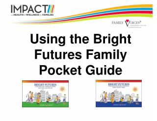 Using the Bright Futures Family Pocket Guide