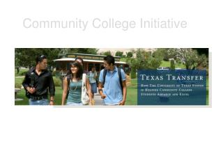 Community College Initiative