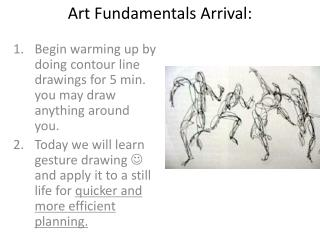 Art Fundamentals Arrival: