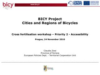 BICY Project Cities and Regions of Bicycles