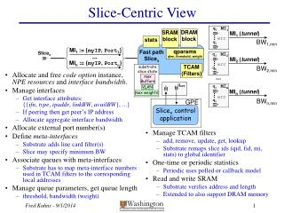 Slice-Centric View
