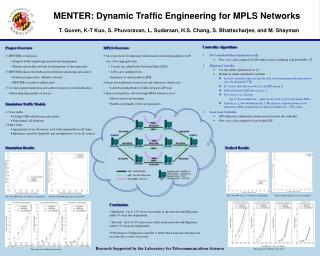 MENTER: Dynamic Traffic Engineering for MPLS Networks